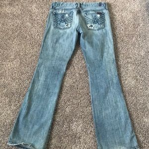 A Pocket Seven for all Mankind Jeans